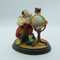 The Danbury Mint Norman Rockwell Santa Claus Good Boys Of The World 1994 Statue
