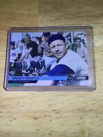Mickey Mantle Topps 2008 No. 92 New York Yankees Babe Ruth Collector Card RP