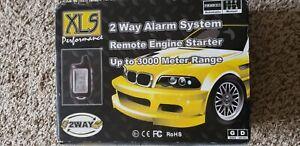 Long range remote starter, alarm system, door opener, trunk opener etc.