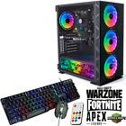 Fast Gaming Pc Computer Set Quad Core I5 16gb 1tb Win 10 2gb Gt710