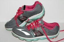 Brooks Pure Cadence 4 Running Shoes, #1201751B052, Gray/Blu/Pink, Women's US 9.5