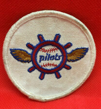 Vintage 1969 Seattle Pilots Baseball Defunct Team Patch Embroidery MLB