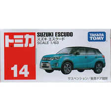 Takara Tomica Tomy #14 Suzuki Escudo 1/63 Diecast Toy Car JAPAN Free Shipping