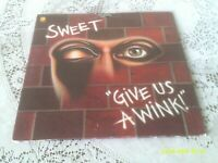 SWEET. GIVE US A WINK. CAPITOL. ST-11496. 1976. FIRST US PRESSING.