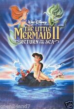 """DISNEY """"LITTLE MERMAID II - RETURN TO THE SEA"""" POSTER FROM ASIA"""