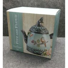 Fitz & Floyd 21-064 The English Garden Collection 60 oz Teapot, Worn Box