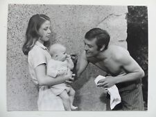 photo presse  18x24    ALAIN DELON NATHALIE DELON ANTHONY DELON  0017