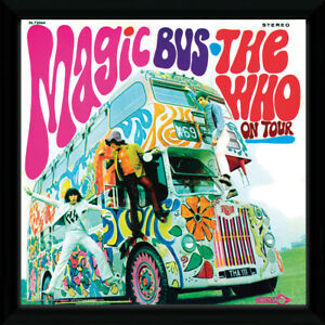 The Who Magic Bus My Generation 30x30cm 12x12 inches Framed Album Print