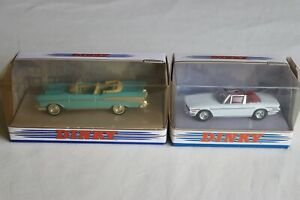 Matchbox Dinky DY27 1957 Chevrolet Convertible & DY28 1969 Triumph Stag