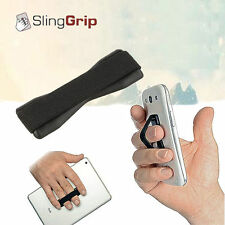 Phone Finger Strap Elastic Hand Grip Strapzy Holder Mobile iPhone iPad Samsung