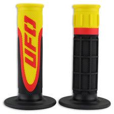 UFO Axiom Grips - Tripple Density Grips - Motocross Handlebar Grips - Yellow