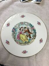 Royal Doulton Collector's Plate My Valentine 1979 Gold Rimmed Mint Condition