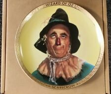 Scarecrow collector plate Wizard Of Oz Portraits