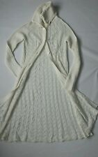 Women's Diesel wool-alpaca long  cardigan ivory color size S BNWT//