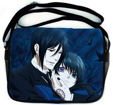 Black Butler Sebastian & Ciel Messenger Laptop Bag USA SELLER!!! FAST SHIPPING!