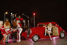 779009 1934 Ford Hot Rod Spoof Of ZZ Top Pop Group A3 Photo Print