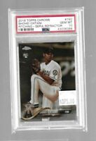 Shohei Ohtani 2018 Topps Chrome RC Pitching-Sepia Refractor--Angels