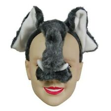 New Elephant Face Mask Animal Fancy Dress Costume With Sound Effect FX P983