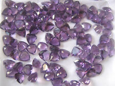 AAA Quality 10 Pcs. Natural Amethyst 8x8 MM Trillion Normal Cut Loose Gemstone