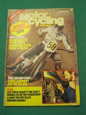 MOTORCYCLING MONTHLY - HONDA XL125 - March 1979 # 41