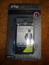 IFROGZ PROTECTION MEETS STYLE COLOR BLUE IPHONE 4G