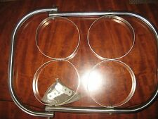 """Taylor Made Stainless Steel Fender Rack 4"""" TO 6"""" BUMPER WITH ATACHMENT HARDWARE"""