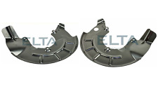 Brake Backing Plate - Front - PAIR - LH + RH - fits A2, Ibiza, Fabia, Polo