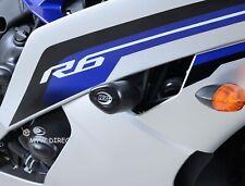 Yamaha YZF R6 2006 R&G Racing Aero Top Crash Protectors CP0203BL Black
