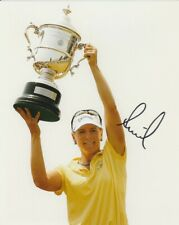 ANNIKA SORENSTAM SIGNED LPGA GOLF 8x10 PHOTO #1 Autograph PROOF