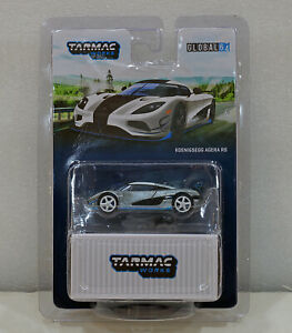 CHASE! Tarmac Works 1/64 Koenigsegg Agera RS White T64G-005-RS1