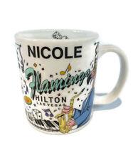 Flamingo Hilton Las Vegas Ceramic Personalized Coffee Mug Nicole Casino Souvenir