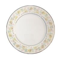 Vintage Noritake China Dinner Plates Set of 4 Blossom Time Pastel Flowers 10.5""
