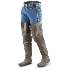 New frogg toggs DriDuck Cleated Rubber Hip Boot Waders Hunting Frogging Fishing