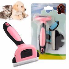 Animaux Toilettage Brosse & deShedding outil, Slicker peigne pour tous les chiens, chats & CHEVAUX
