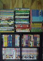 Pick 8 Shonen Manga, Dragon Ball Z, Negima, Tsubasa