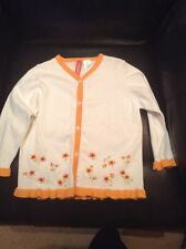 GYMBOREE 'Wildflower Fields' Girls Cardigan, Size 3T - NEW WITHOUT TAGS