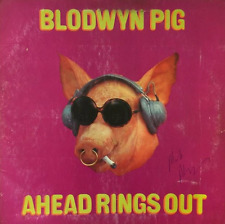 BLODWYN PIG ‎- Ahead Rings Out (LP) (Signed) (G-VG/G-)
