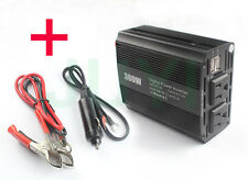 300W Car Power Inverter DC 12V to 110V AC Converter with 4.2A Dual USB Charger