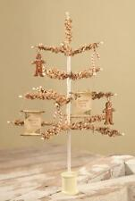 "Bethany Lowe 12"" Tissue Paper Christmas Tree Vickie Smyers Sweet Treat Ornaments"