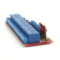 Multi-function Infrared Remote Control 12V Bidirectional 8-Channel Relay Module