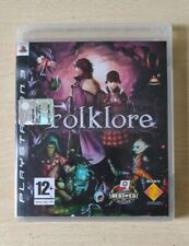 PS3 FOLKLORE ITALIANO DISCO COME NUOVO  SONY6PLAYSTATION 3 COMPLETO