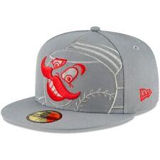 Cincinnati Reds New Era Alternate Logo Elements 59FIFTY Fitted Hat - Gray