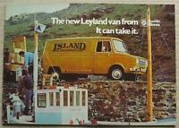 LEYLAND SHERPA Van PICK UP Minibus Sales Brochure Oct 1974 #3060 AUSTIN MORRIS