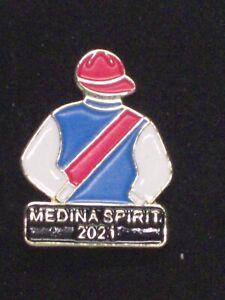 2021 - MEDINA SPIRIT - Kentucky Derby Jockey Silks Pin