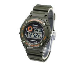 -Casio W216H-3B Digital Watch Brand New & 100% Authentic