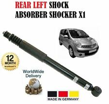 FOR NISSAN NOTE 1.6 1.5DCi 1.4 2006--> NEW  REAR LEFT SHOCK ABSORBER SHOCKER X1