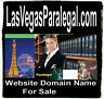 Las Vegas Paralegal .com  Domain Name For Sale Law Attorney Lawyer Contracts URL