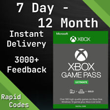 Xbox Live Gold & Game Pass Ultimate Code - 1, 2, 3, 6, 12 Month & 14 Day Keys