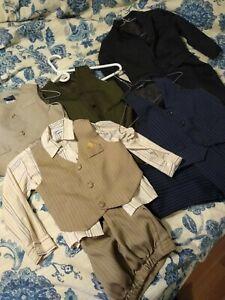 Bundled Lot of 5 boys suits size 4 & 4T
