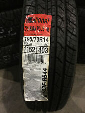 1 New 195 70 14 National Ovation Plus TR Tire